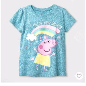 Toddler Girls' Peppa Pig Graphic T-Shirt 5T